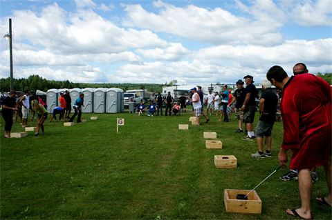 World Washer Toss Championships Now this is a fun time!
