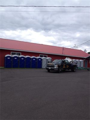 Douglas Harbour Fundraiser A good cause deserves clean, quality portable toilets.