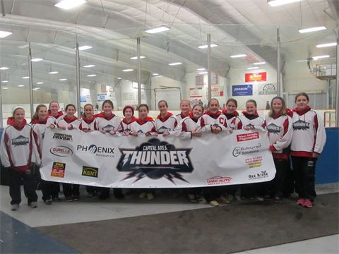 Team Photo Say 'hello' to your Capital Area Thunder hockey team!